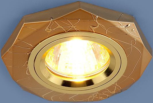Встраиваемый светильник Elektrostandard 2040 MR16 GD золото 4690389003479 elektrostandard электронный пускорегулирующий аппарат эпра elektrostandard bls 03 t4 20w 4690389037078