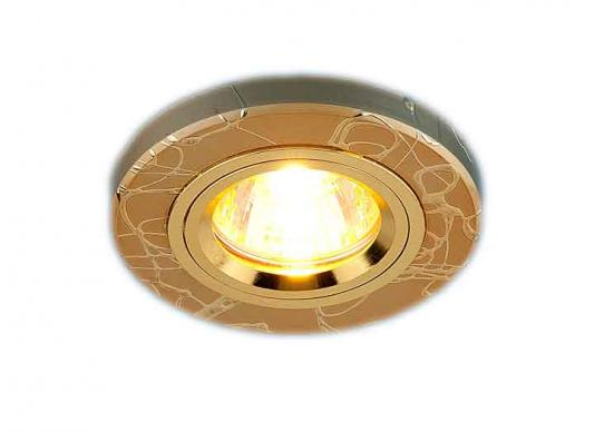 Встраиваемый светильник Elektrostandard 2050 MR16 GD золото 4607176194845
