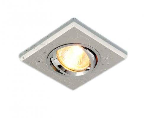 Встраиваемый светильник Elektrostandard 2080 MR16 SL серебро 4690389060991