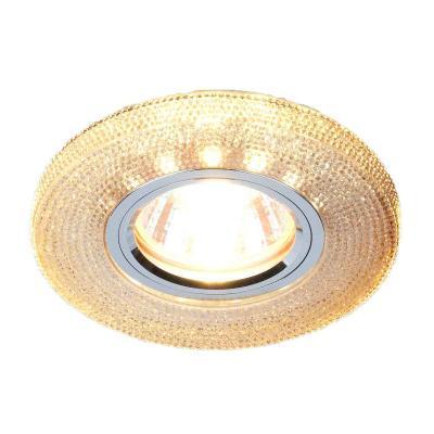 Фото - Встраиваемый светильник Elektrostandard 2130 MR16 GС тонированный 4690389073274 cветильник галогенный de fran встраиваемый 1х50вт mr16 ip20 зел античное золото