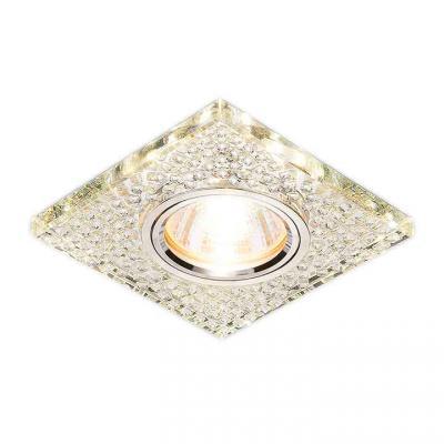 Фото - Встраиваемый светильник Elektrostandard 2150 MR16 SL зеркальный/серебро 4690389073304 cветильник галогенный de fran встраиваемый 1х50вт mr16 ip20 зел античное золото