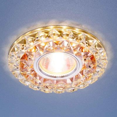 Встраиваемый светильник Elektrostandard 2170 MR16 GC/CL тонированный/прозрачный 4690389074080 аксессуар дельта 16 1800 2170 ts9