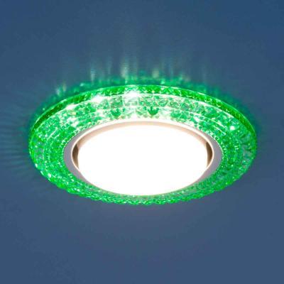 Встраиваемый светильник Elektrostandard 3030 GX53 GR зеленый 4690389083327 elektrostandard электронный пускорегулирующий аппарат эпра elektrostandard bls 03 t4 20w 4690389037078