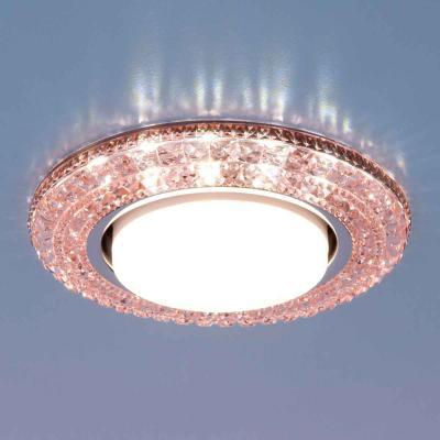 Встраиваемый светильник Elektrostandard 3030 GX53 PK розовый 4690389083303 elektrostandard электронный пускорегулирующий аппарат эпра elektrostandard bls 03 t4 20w 4690389037078