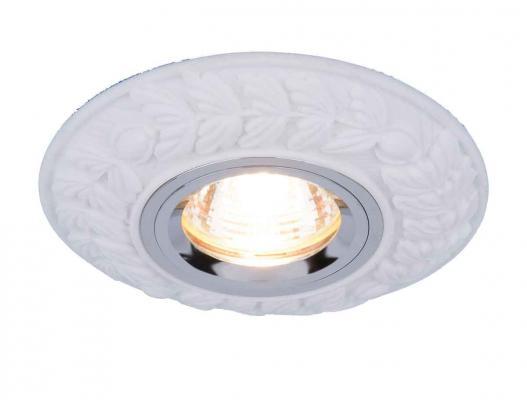 Встраиваемый светильник Elektrostandard 4072 MR16 WH белый 4690389044243  встраиваемый потолочный светодиодный светильник elektrostandard dls186 18w 6500k белый wh