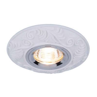 Встраиваемый светильник Elektrostandard 4073 MR16 WH белый 4690389044250  встраиваемый потолочный светодиодный светильник elektrostandard dls186 18w 6500k белый wh
