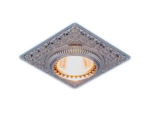 Встраиваемый светильник Elektrostandard 4104 MR16 CH хром 4690389045486
