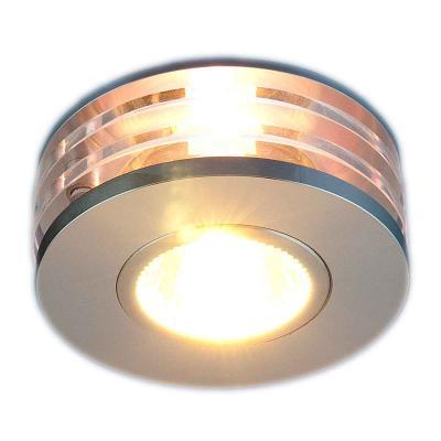 Встраиваемый светильник Elektrostandard 5005 MR16 CH хром 4690389014093 elektrostandard электронный пускорегулирующий аппарат эпра elektrostandard bls 03 t4 20w 4690389037078