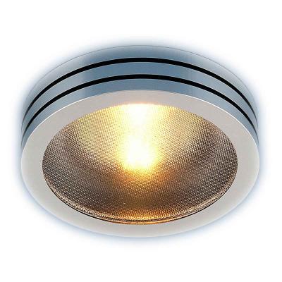 где купить Встраиваемый светильник Elektrostandard 5153 MR16 CH/BK хром/черный 4690389014123 по лучшей цене