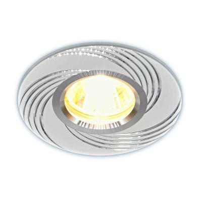 Встраиваемый светильник Elektrostandard 5156 MR16 WH белый 4690389081378 elektrostandard электронный пускорегулирующий аппарат эпра elektrostandard bls 03 t4 20w 4690389037078