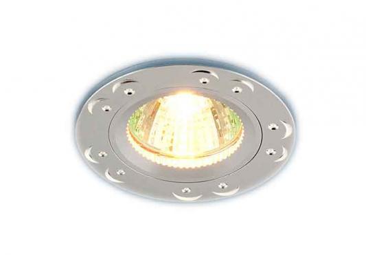 Фото - Встраиваемый светильник Elektrostandard 5805 MR16 SS сатин серебро 4690389009136 cветильник галогенный de fran встраиваемый 1х50вт mr16 ip20 зел античное золото
