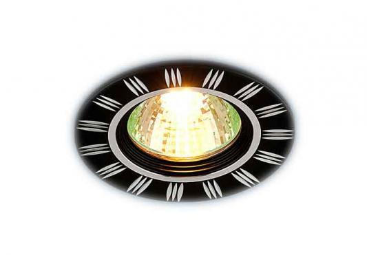 Встраиваемый светильник Elektrostandard 5814 MR16 BK/CH черный/хром 4690389009143