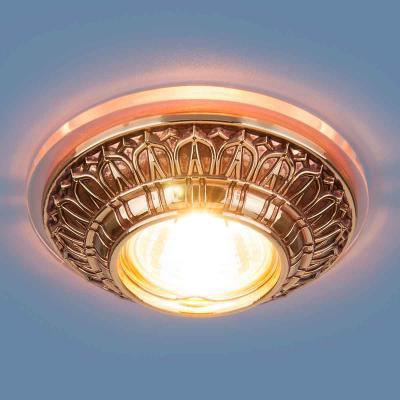 Встраиваемый светильник Elektrostandard 6024 MR16 GD золото 4690389056628