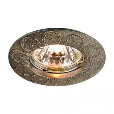 Встраиваемый светильник Elektrostandard 603 MR16 GAB бронза 4690389060793