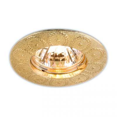 Встраиваемый светильник Elektrostandard 603 MR16 SG сатин золото 4690389060809