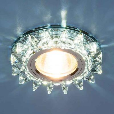 Встраиваемый светильник Elektrostandard 6037 MR16 BL сапфир/хром 4690389060700