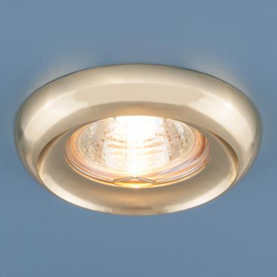 Встраиваемый светильник Elektrostandard 6065 MR16 GD золото 4690389055676