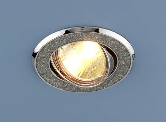 Встраиваемый светильник Elektrostandard 611 MR16 SL серебряный блеск/хром 4607138144147