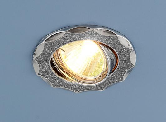 Встраиваемый светильник Elektrostandard 612 MR16 SL серебряный блеск/хром 4690389000096