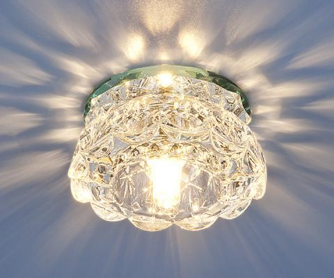 Встраиваемый светильник Elektrostandard 6240 G9 CL зеркальный/прозрачный 4690389028595