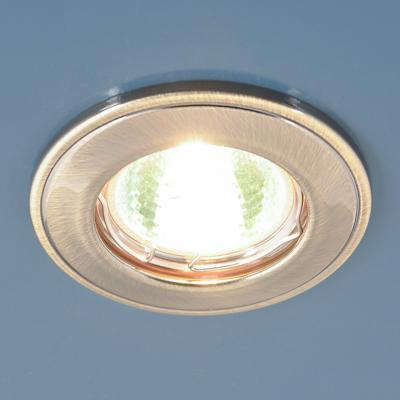 Встраиваемый светильник Elektrostandard 7002 MR16 GAB бронза 4690389082559