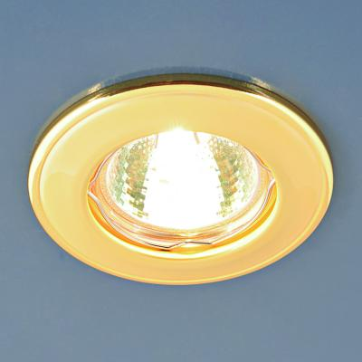 Встраиваемый светильник Elektrostandard 7002 MR16 GD матовое золото 4690389082542