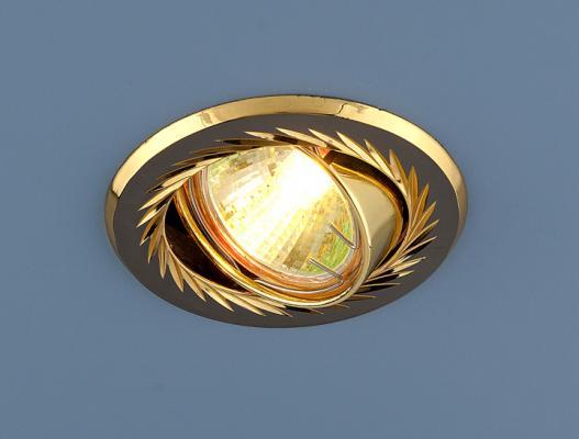 Встраиваемый светильник Elektrostandard 704 CX MR16 GU/GD черный/золото 4607176192629 cx 491 p sensor mr li