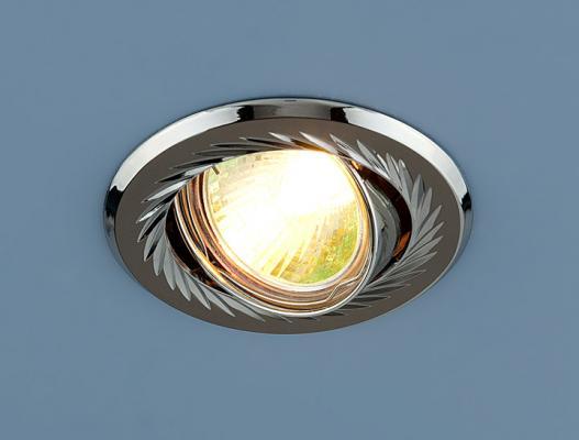 Встраиваемый светильник Elektrostandard 704 CX MR16 GU/SL черный/серебро 4690389003431 cx 491 p sensor mr li
