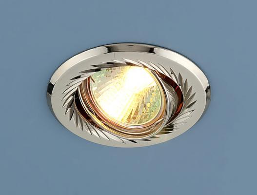 Встраиваемый светильник Elektrostandard 704 CX MR16 PS/N перл. серебро/никель 4607176196054 штатив dicom tv300 n серебро