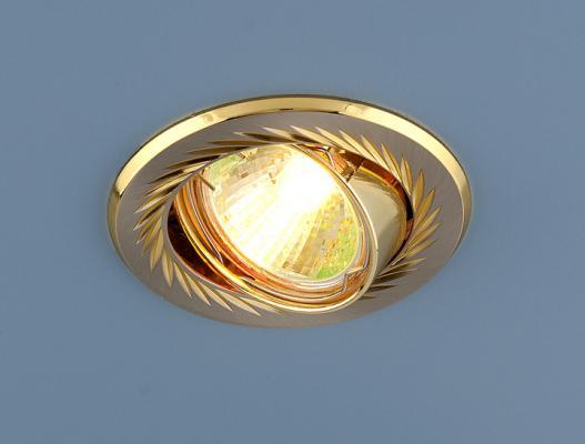 Встраиваемый светильник Elektrostandard 704 CX MR16 SN/GD сатин никель/золото 4607138143669 cx 491 p sensor mr li