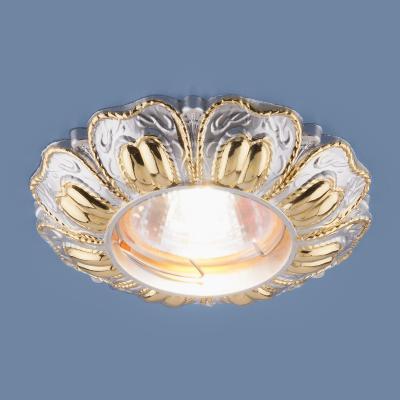 Встраиваемый светильник Elektrostandard 7215 MR16 PSG перламутровый/золото 4690389053047