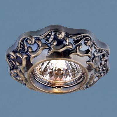 Встраиваемый светильник Elektrostandard 7218 MR16 GAB бронза 4690389060397 elektrostandard электронный пускорегулирующий аппарат эпра elektrostandard bls 03 t4 20w 4690389037078