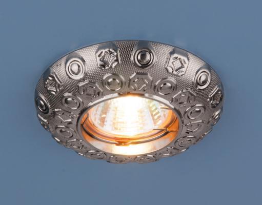 Встраиваемый светильник Elektrostandard 7219 MR16 SN никель 4690389053009