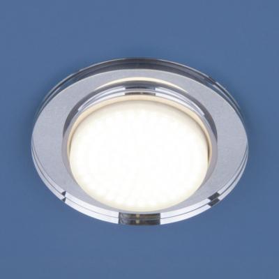 Встраиваемый светильник Elektrostandard 8061 GX53 SL зеркальный/серебро 4690389065132 ножемир куница 8061 б
