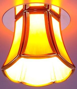 Встраиваемый светильник Elektrostandard 8375 G9 бронза/коричневый (SB/Brown) 4690389028489