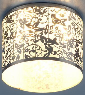 Встраиваемый светильник Elektrostandard 8402 G4 хром/белый (CH/WH) 4690389017094