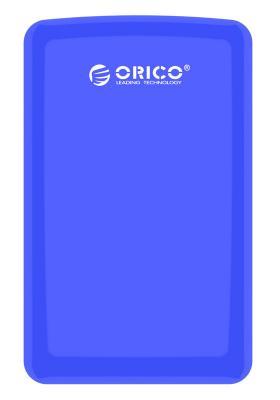 Внешний контейнер для HDD 2.5 SATA Orico 2579S3-BL USB3.0 синий внешний контейнер для hdd 2x3 5 sata orico 9528u3 usb3 0 серебристый