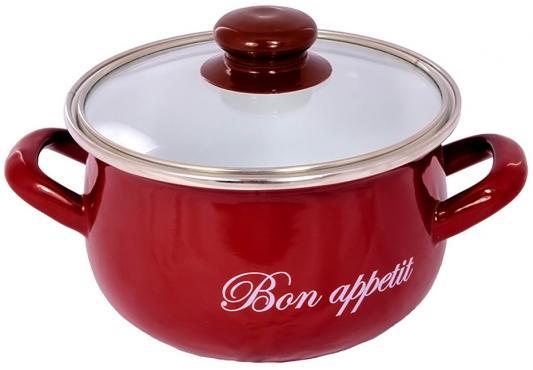 Кастрюля INTEROS 2234 Бордо 5.7 л углеродистая сталь кастрюля interos 2234 bon appetit