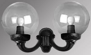 Уличный настенный светильник Fumagalli Mirra/G300 G30.142.000.AXE27