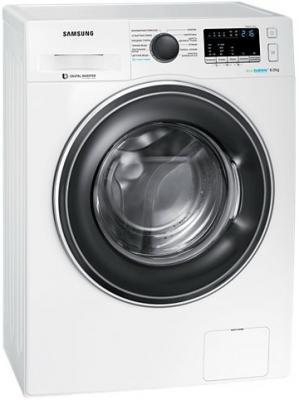 Стиральная машина Samsung WW80K62E07W белый стиральная машина samsung ww80k62e07w