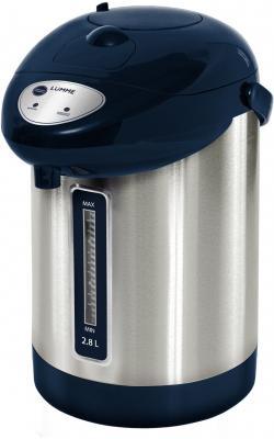 Термопот Lumme LU-297 900 Вт синий сапфир 2.8 л нержавеющая сталь термопот lumme lu 295 blue sapphire