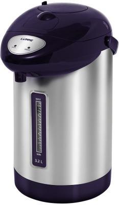 Термопот Lumme LU-296 900 Вт темный топаз 3.2 л нержавеющая сталь