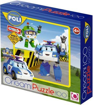 Пазл ОРИГАМИ Robocar 100 элементов 05898 пазл origami 05897 robocar 100 эл