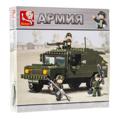 Конструктор SLUBAN Армия 191 элемент M38-B9900 sluban m38 b0287