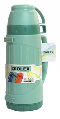 Термос Diolex DXP-1800-1-G 1.8л зеленый термос diolex dxp 1000 1 g 1л зеленый