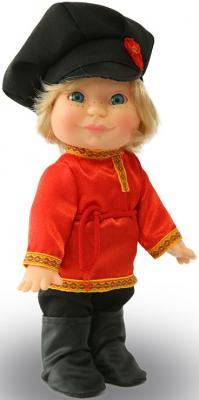 Кукла ВЕСНА Веснушка в русском костюме мальчик 26 см