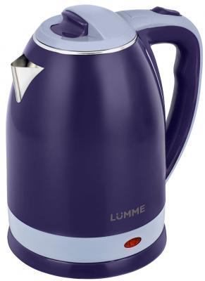 Чайник Lumme LU-159 1800 Вт голубой топаз 2 л металл/пластик