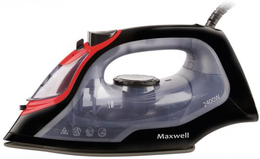 Утюг Maxwell MW-3034(BK) 2400Вт чёрный прозрачный графин loraine 0 2 л