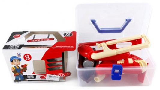 Игровой набор Shantou Gepai Набор инструментов 12 предметов игровой набор shantou gepai азбука магнитная 703