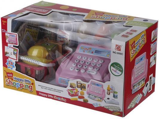 Игровой набор Shantou Gepai Касса эл. Веселый шопинг, с набором продуктов